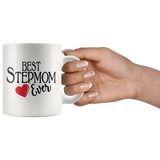 Best Stepmom Ever 11 oz White Coffee Mug