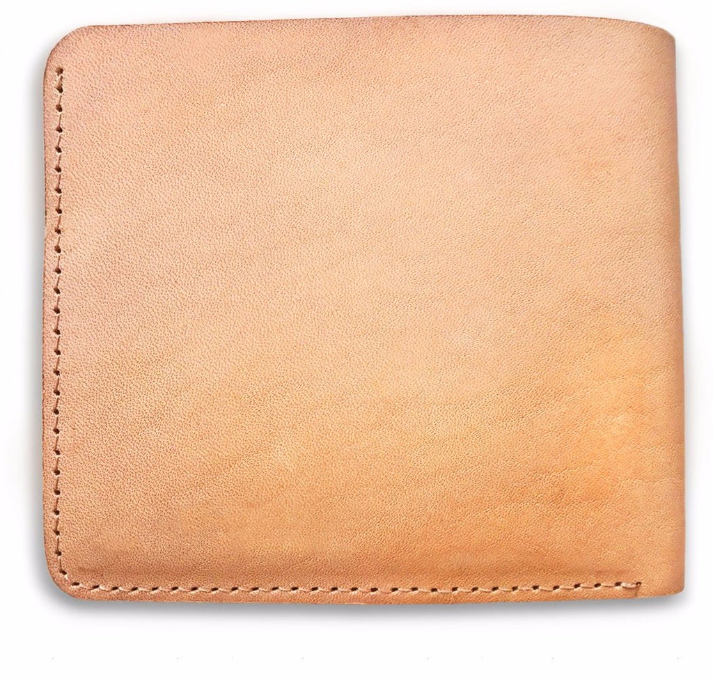 Tan Leather Bifold wallet for Men - Bow and Stern