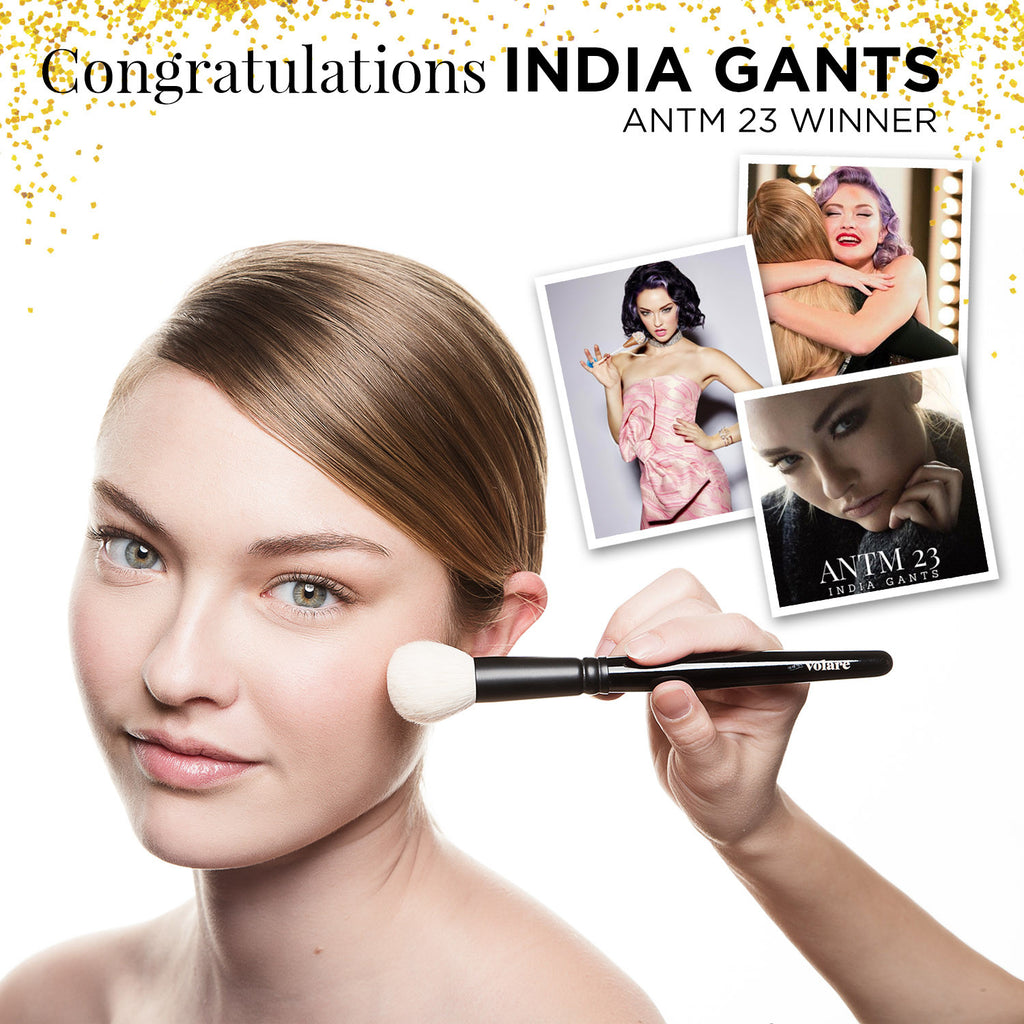 India Gants for  Volare Cosmetics Photoshoot