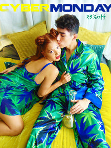 Marijuana Pajamas Like Artwork!