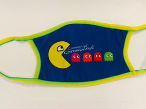 Face Mask Pac Man