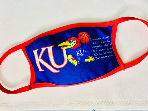 Face Mask KU Jayhawks