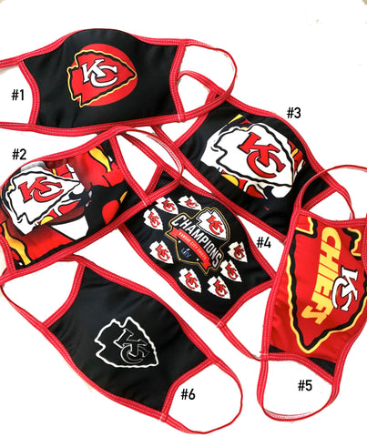 Face Mask KC Chiefs