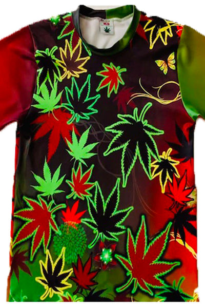 Men's Cannabis Pullover Shirt