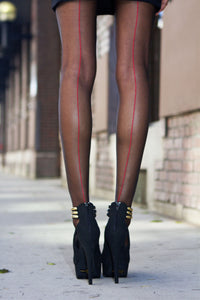 Falke Sheer Backseam Pantyhose