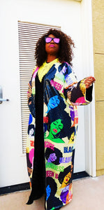 AfroHeadz Sequins Coat