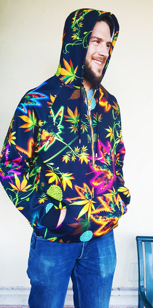 Black Cannabis Sweatshirt