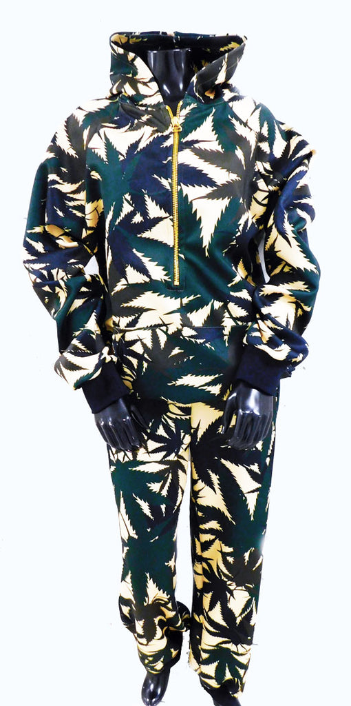 Mary Jane Runway Camo Cannabis Sweatshirt