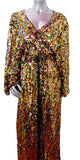 Mary Jane Runway Golden Queens Robe