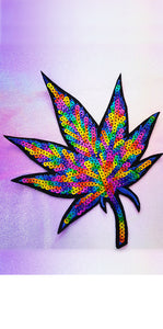 Marijuana Leaf Decal