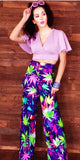 Mary Jane Runway Marijuana Pants