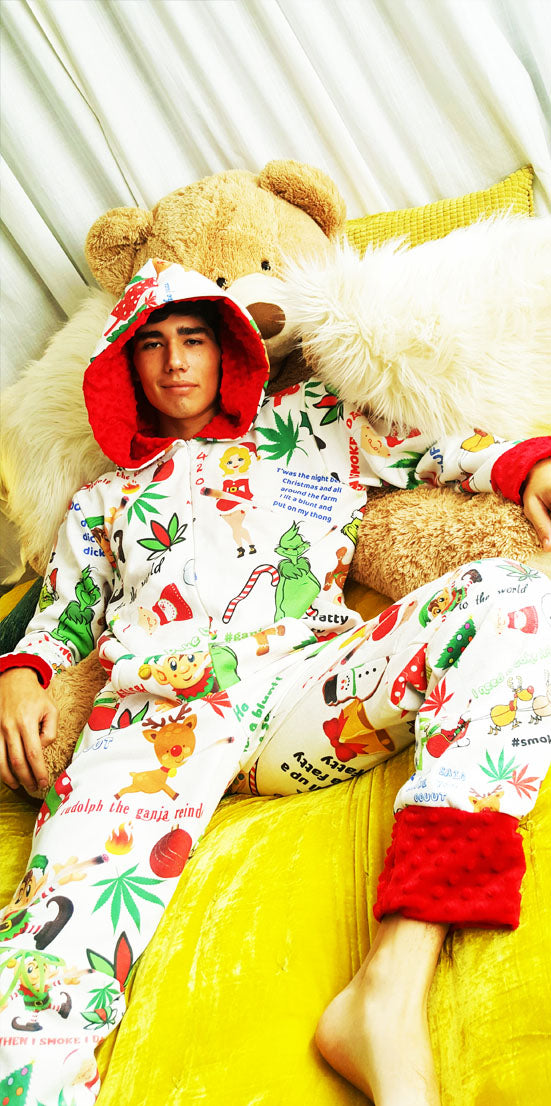Holiday Ganja Onesie