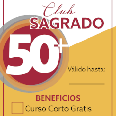 Membresía Club Sagrado 50+