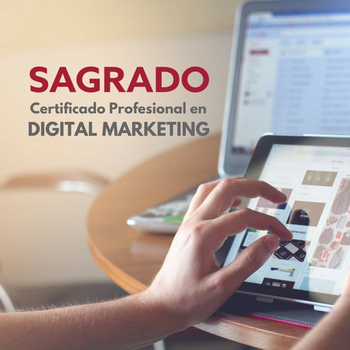 Depósito: Certificado Profesional en DIGITAL MARKETING
