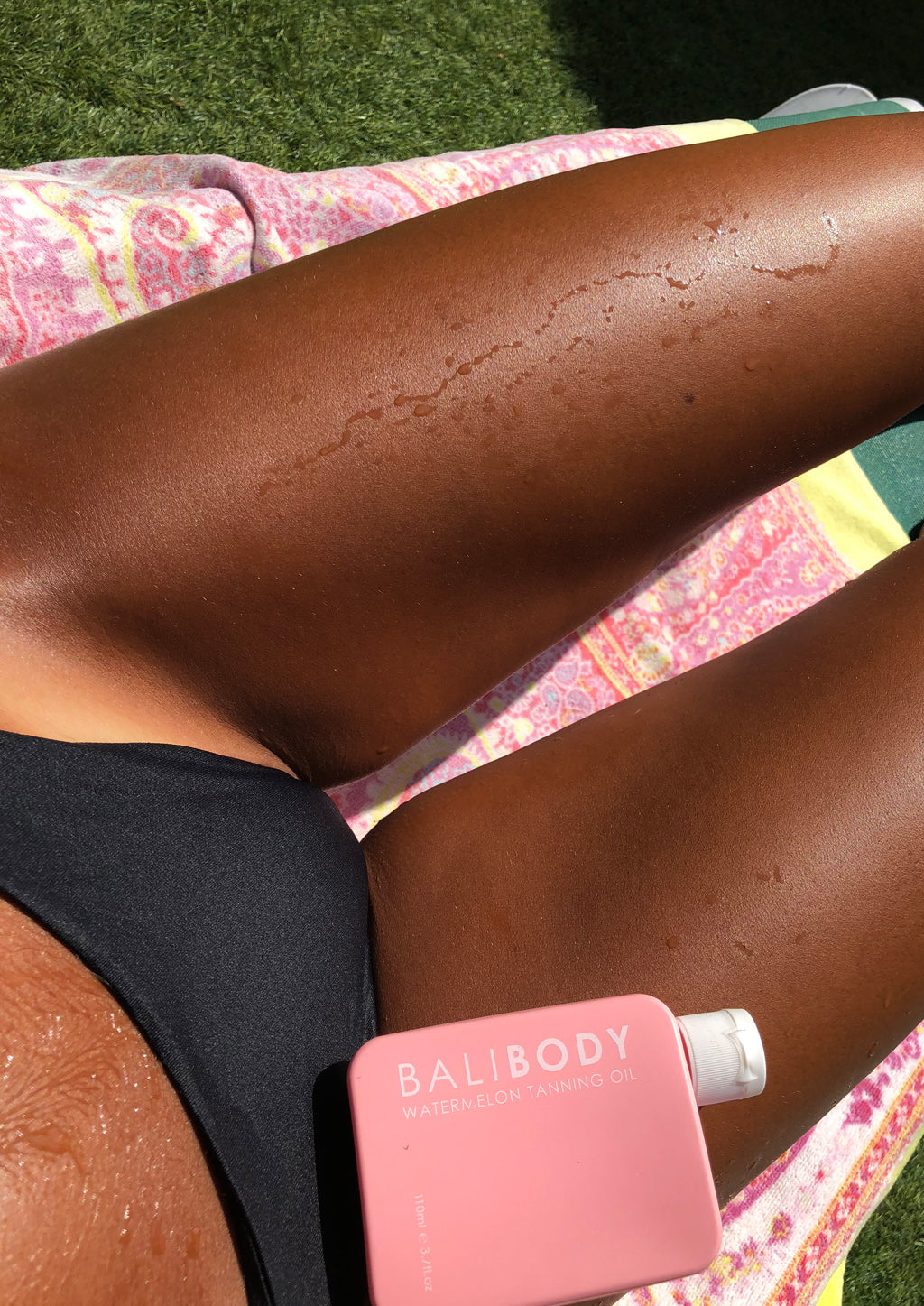 Watermelon Tanning Oil SPF6