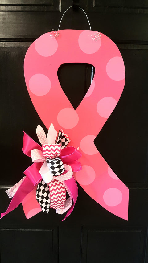 Awareness Ribbon Door Hanger