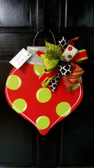 Ornament - Polka Dot - Small Size - Door Hanger