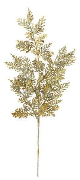 Metallic Juniper Spray Gold