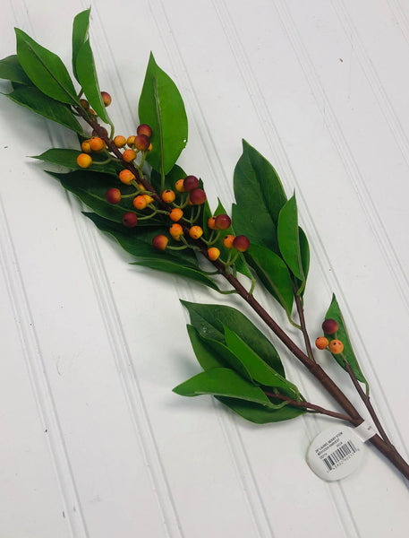 Pick - Laurel Berry Stem - 28""