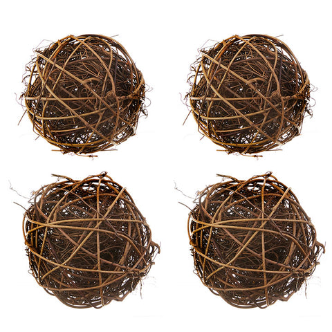 Vine Balls - Box of 4 - 3.5""