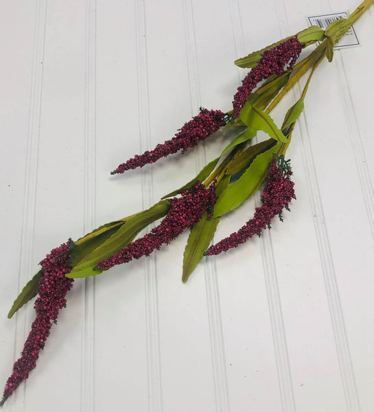 Pick - Mini Berry Millet Spray - 38""