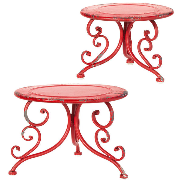 Days of Decor Deals!! Riser - Red Metal - Choose your size!!