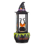 Lighted Cauldron Water Lantern - 13""