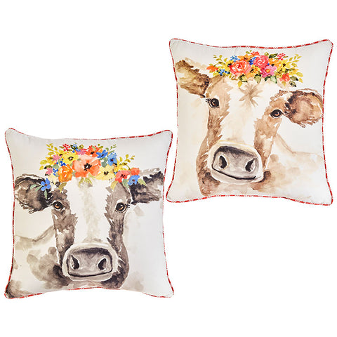 Cow Pillow - Assorted Styles