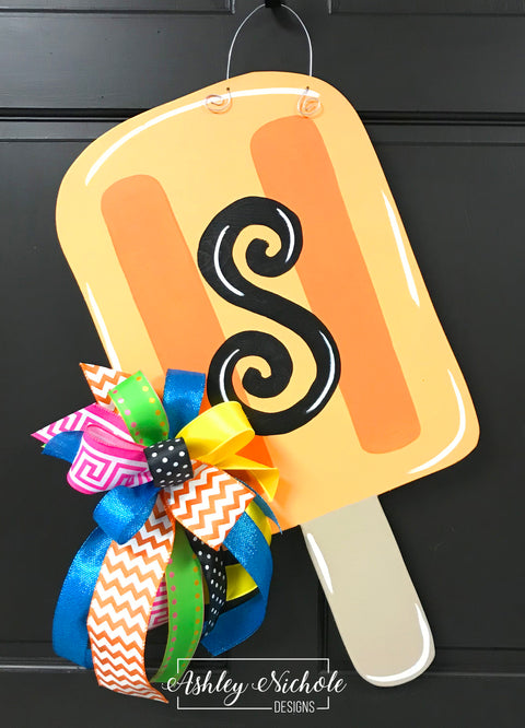 Popsicle Door Hanger