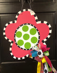 Sassy Flower Door Hanger