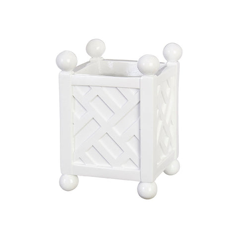 *TOP SELLER* Lattice Container -Planter - 7.5""