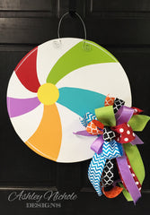 Beach Ball Door Hanger
