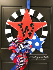 Circle of Stars Door Hanger