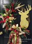 Deer Wreath