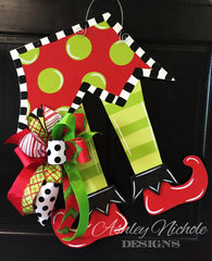 Elf Feet Door Hanger