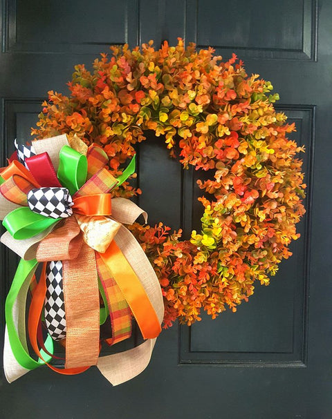 "24"" Wreath Eucalyptus - FALL"