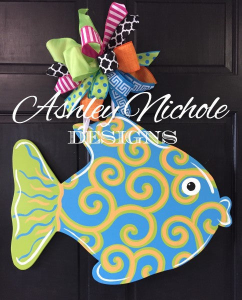 Funky Fish Door Hanger