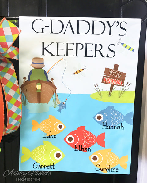 G-Daddy's Keepers Garden Vinyl Flag