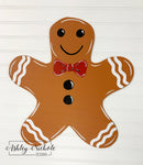 Tree Topper - Gingerbread