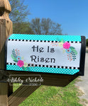 He is Risen Mailbox Cover