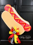 Hot Dog Door Hanger