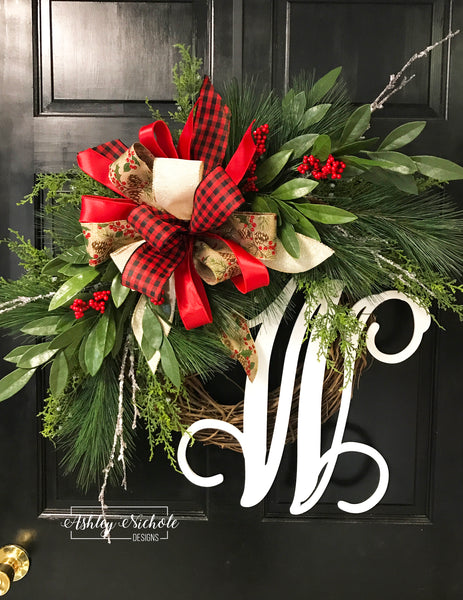 Bayleaf and Pine Wreath