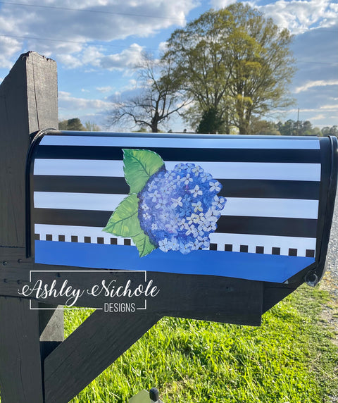 Hydrangea Flower Magnetic Mailbox Cover