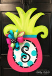 Pineapple LARGE - Door Hanger ~ Pink Version