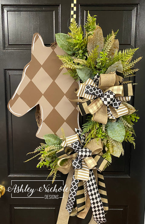 Horse Head Neutral Wreath