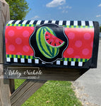 Whole Watermelon Vinyl Mailbox Cover