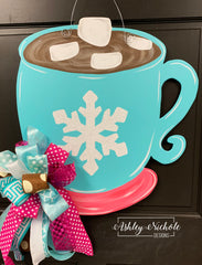 Hot Chocolate Mug Door Hanger