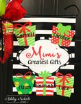 Family Christmas Gifts Garden Vinyl Flag