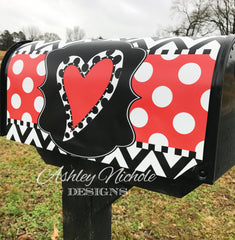 Valentine Heart Magnetic Mailbox Cover