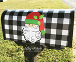 Santa - Buffalo Check Mailbox Cover